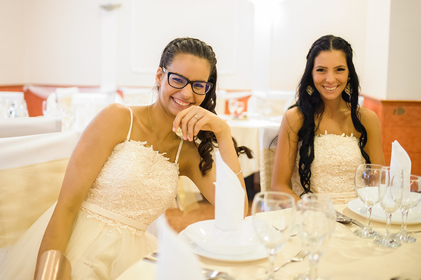 Esküvő fotózás videózás - Evelin és Kristopher - Vacsora