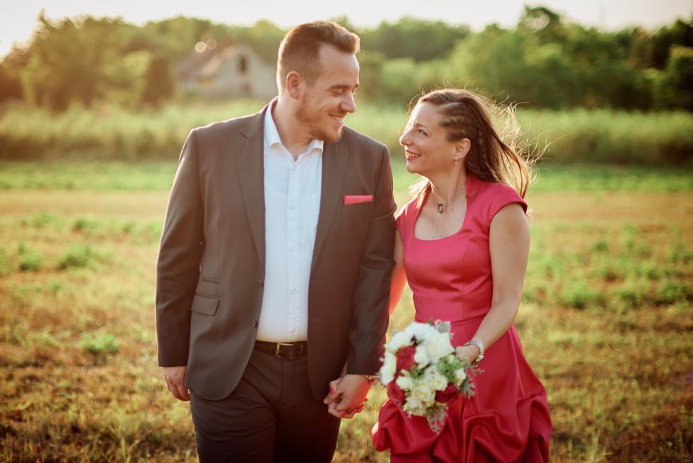 Esküvő fotózás - Adri és Péter