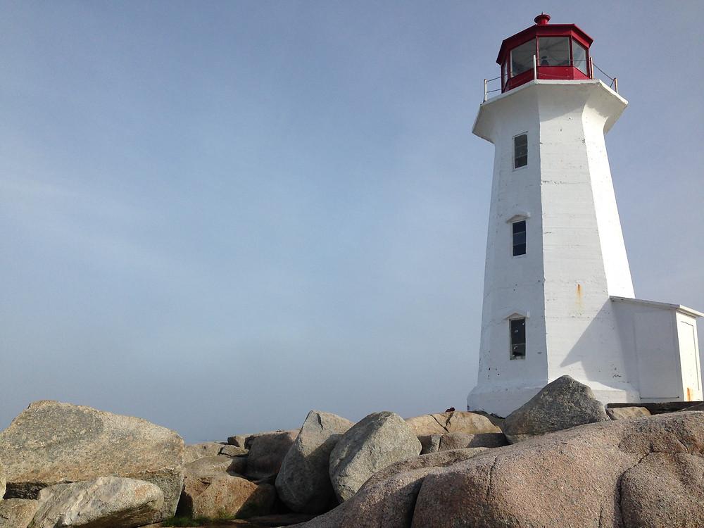 Leuchtturm am Meer, Peggy's Cove