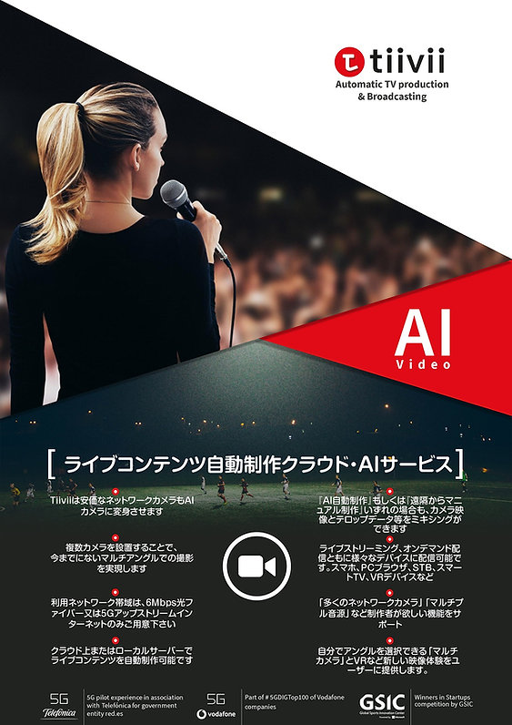 what is tiivii, ai, automatic live producion