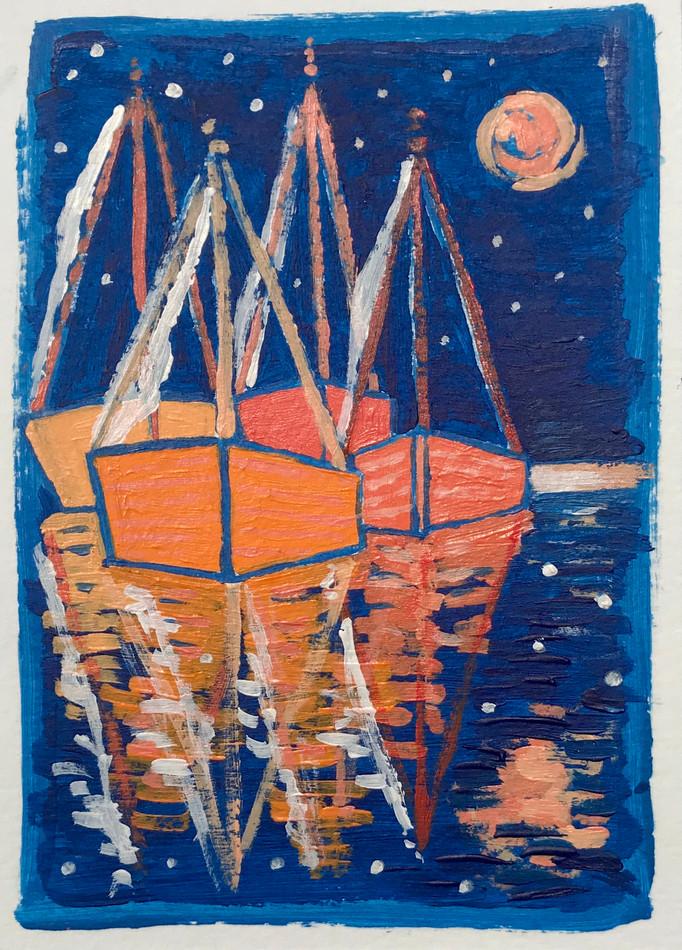 Night Sail Orange