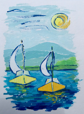 Happy Yellow Sails