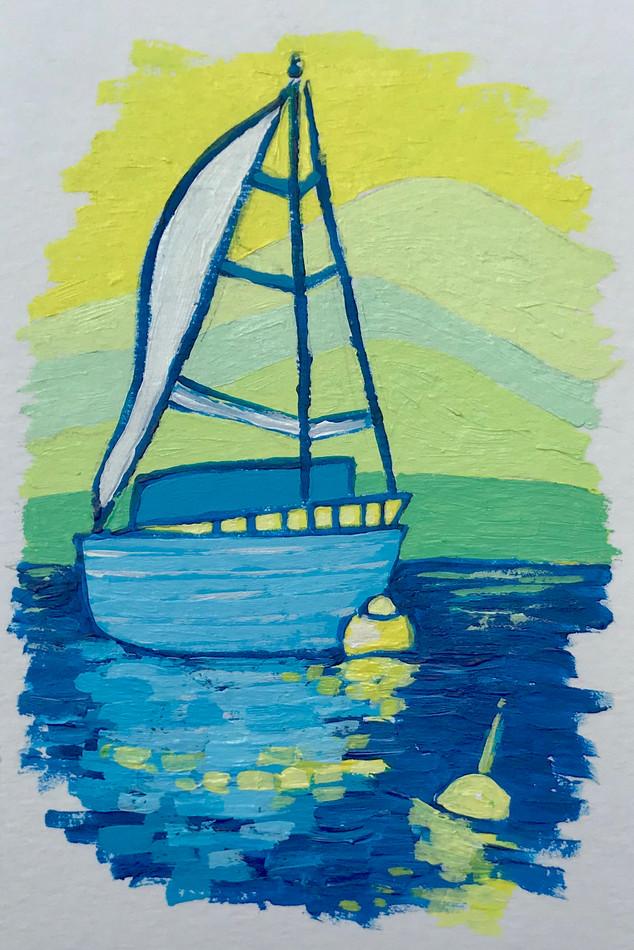 Big Blue Sail