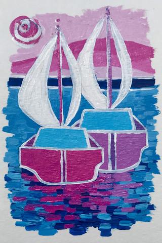 Magenta Sails