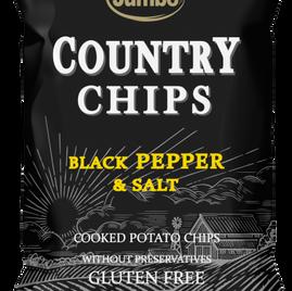 czarny pieprz i sól