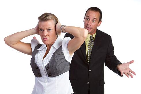 זוגיות במשבר קשה מריבה של בני זוג