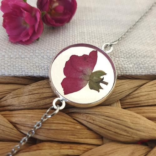 Bracelet Bouton de Rose Argenté