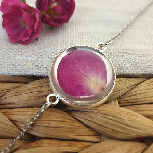 Bracelet Pétale de Rose Argenté