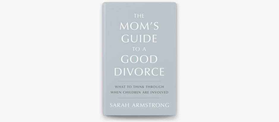Lessons from Sarah Armstrong:  Recovering from a Divorce Hangover (while still driving carpool)