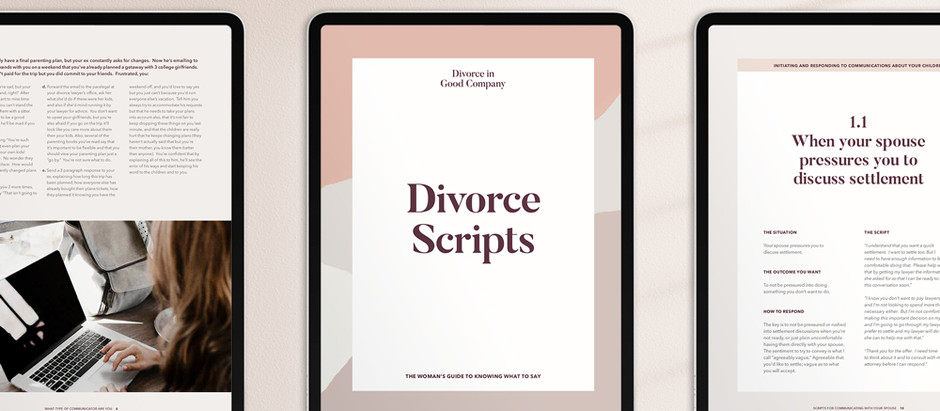 Divorce Communications Giving You Anxiety? Try This.