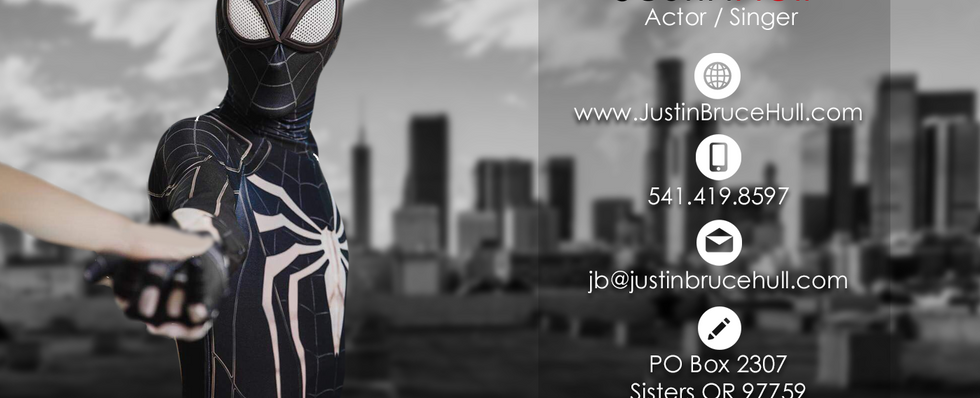 Business Card - Justin Hull