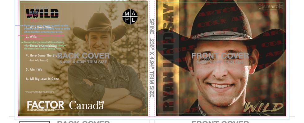 Ryan Lindsay CD Art