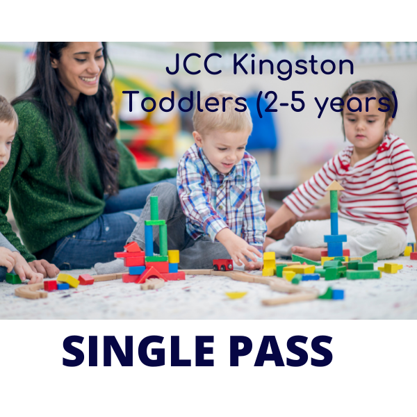 Caregiver & Toddler 2-5 y/o SINGLE PASS