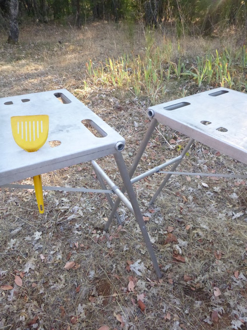 Nesting Camp Tables Pair - Picnic table raft