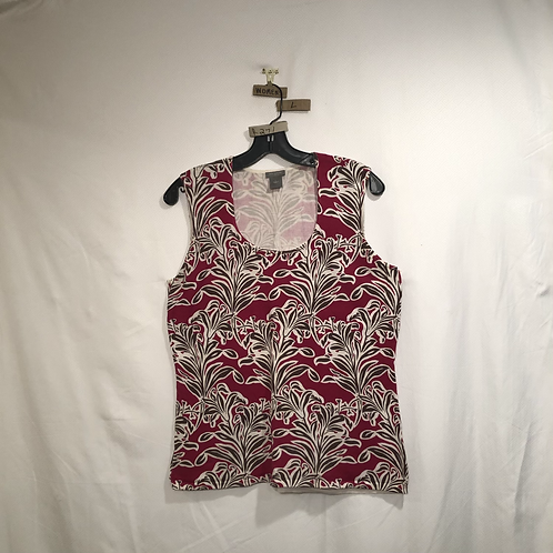 Woman's Sleeveless Ann Taylor Shirt
