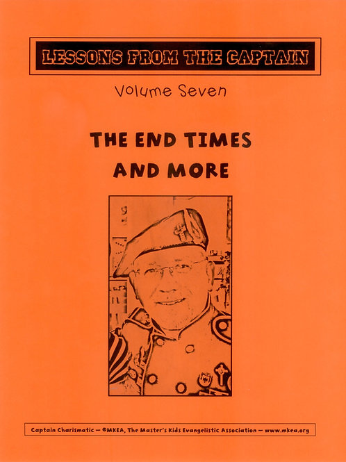 The Captain's Lessons - Volume Seven (28 Lessons)