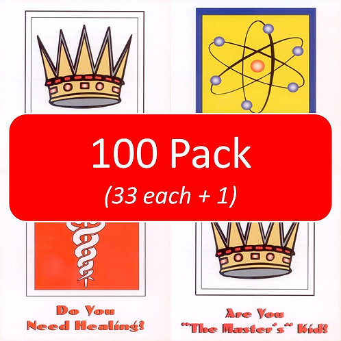 All Three Kids Tracts (100 pack / 33 each plus 1)