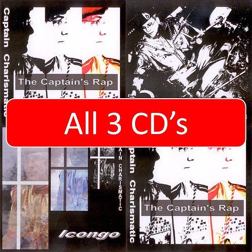 All Three Captain's CD's