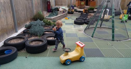 Outdoor nature playground