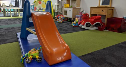 2 indoor playrooms