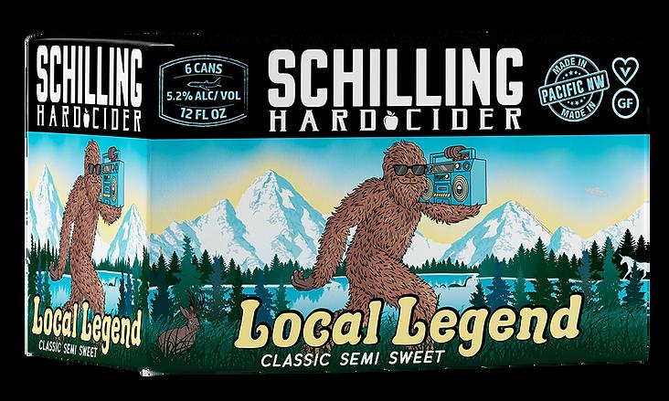 Schilling Cider-Local Legend-6 Pack Box-