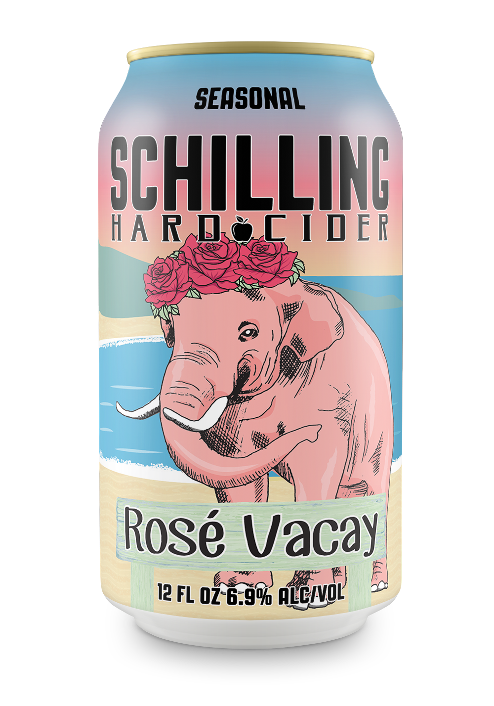 Schilling Cider-Rose Vacay- 12oz Can-1MB
