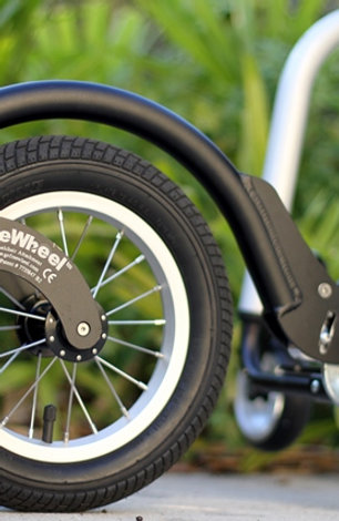 Black FreeWheel Wheelchair Attachment
