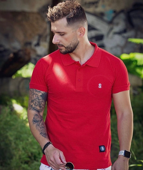 INTOLERAVEL RED POLO