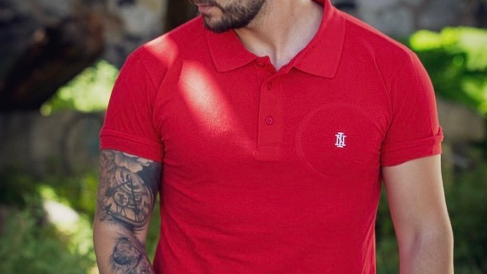 INTOLERAVEL NEW RED POLO
