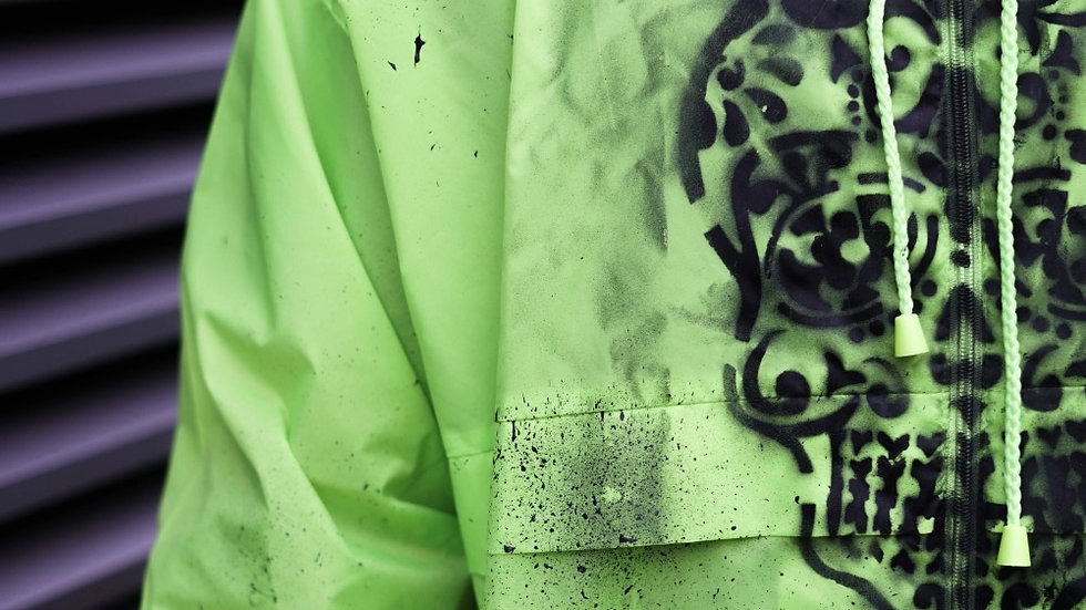 INTOLERAVEL GREEN WATERPROOF