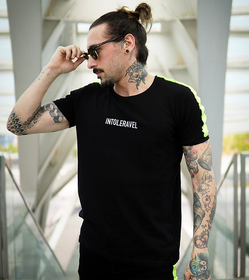 INTOLERAVEL NEON TAPPED T-SHIRT