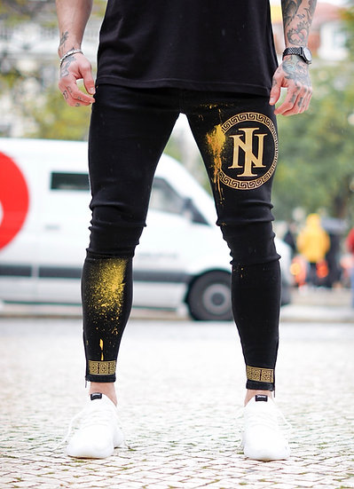 INTOLERAVEL LUXURY GOLD JEANS