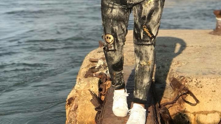 INTOLERAVEL NEW SMILE GOLD JEANS