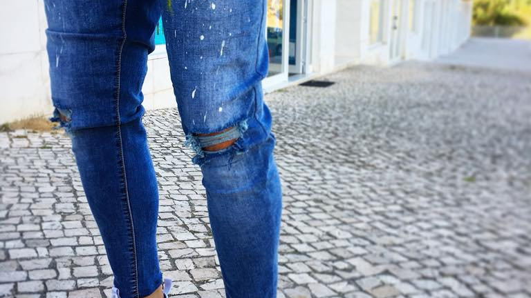 INTOLERAVEL PRINT SS JEANS