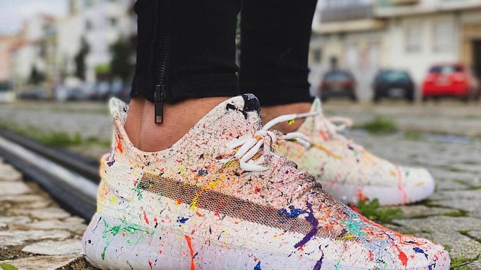 INTOLERAVEL COLORFUL SNEAKERS