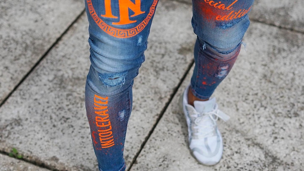 INTOLERAVEL SPECIAL EDITION JEANS