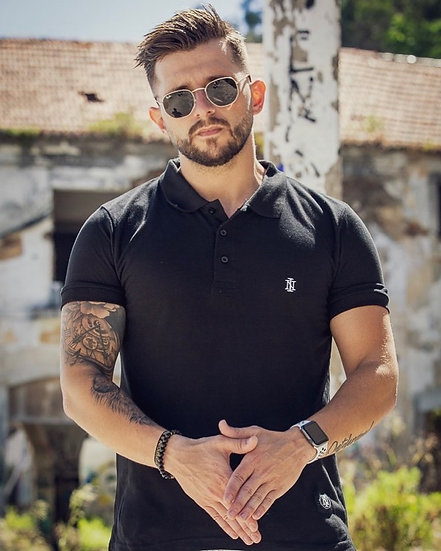 INTOLERAVEL BLACK POLO
