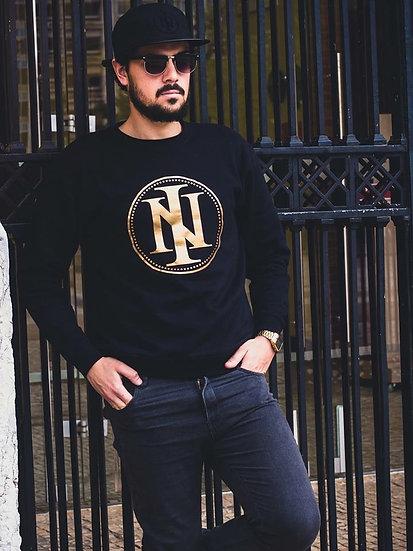 Intoleravel Classic Gold Sweatshirt S/ Capuz