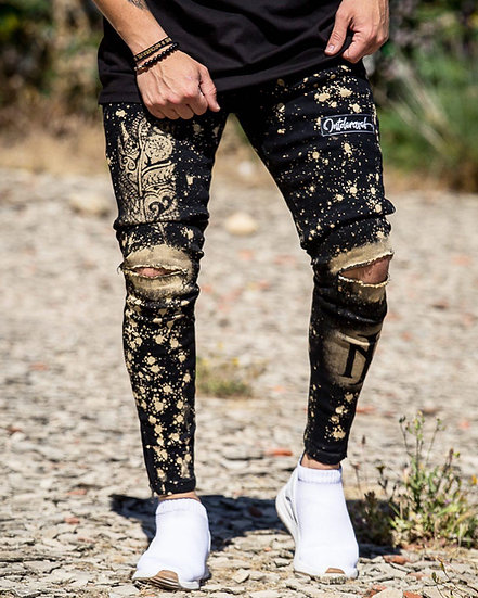 INTOLERAVEL NEW FEATHER JEANS