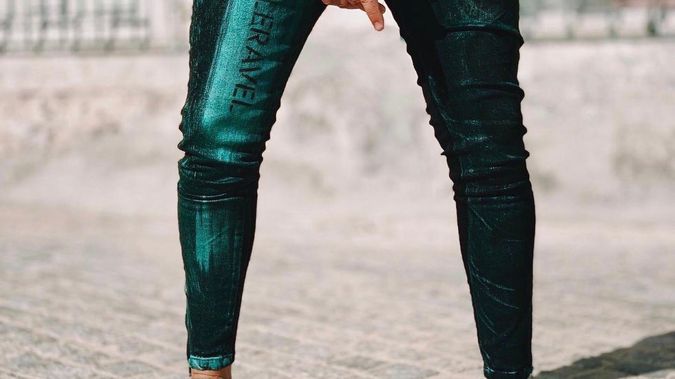 INTOLERAVEL BRUSH GREEN JEANS