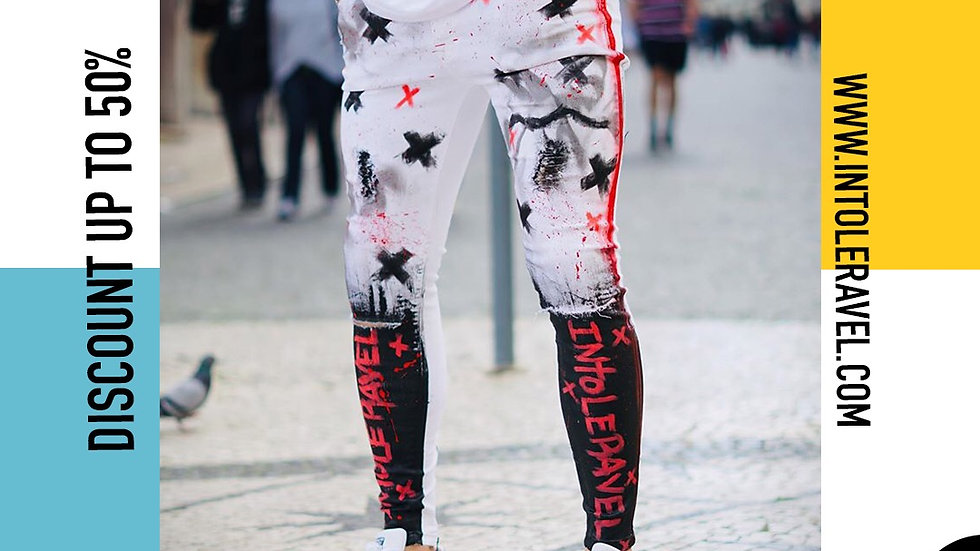 INTOLERAVEL DEGRADE X RED JEANS