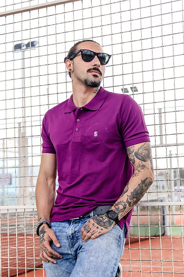 INTOLERAVEL PURPLE POLO