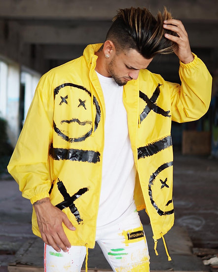 INTOLERAVEL SMILE BK YELLOW WATERPROOF