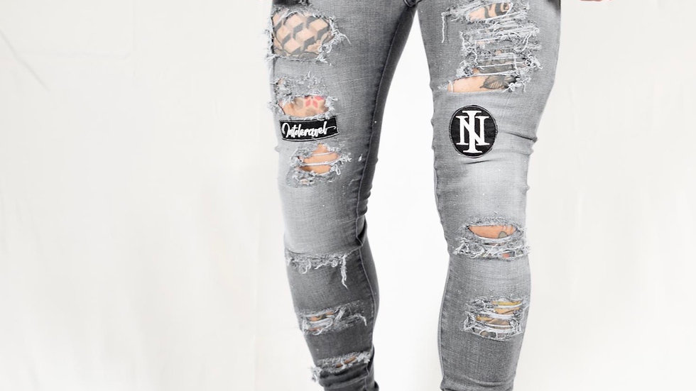 INTOLERAVEL NEW BS GREY JEANS