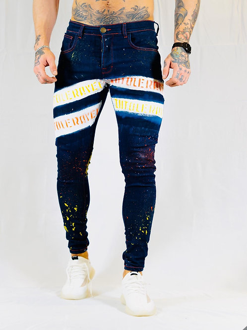 INTOLERAVEL NEW TWO BARS DB JEANS