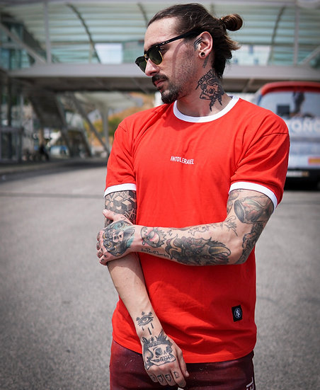 INTOLERAVEL RED T-SHIRT
