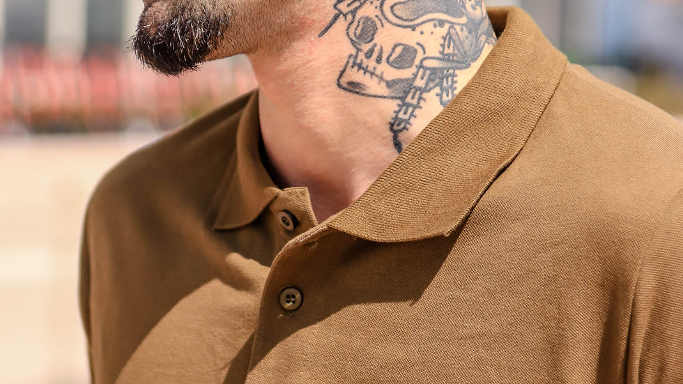 INTOLERAVEL NEW BROWN POLO