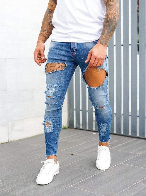 INTOLERAVEL RIPS JEANS