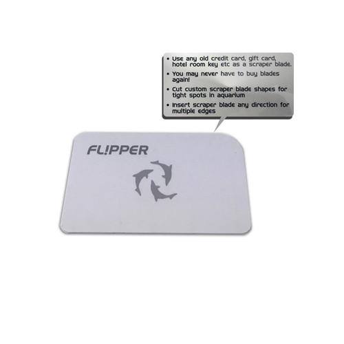 Flipper scraper knive