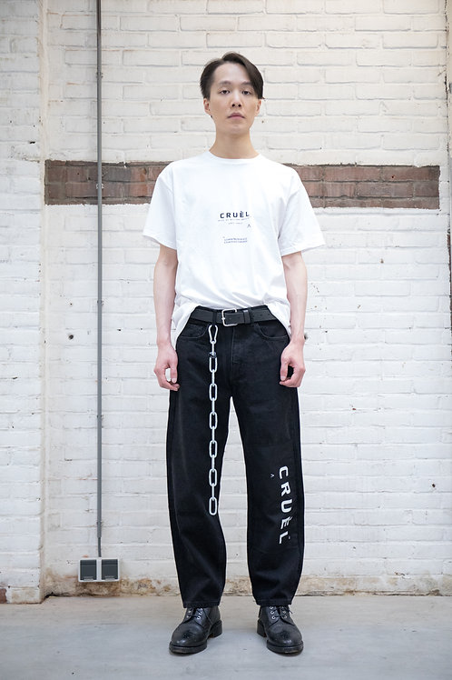 Patch Logo Jeans Man